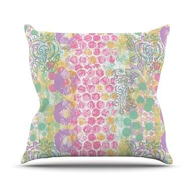 KESS InHouse Impression by Chickaprint Pastel Mix Throw Pillow; 20'' H x 20'' W x 4'' D