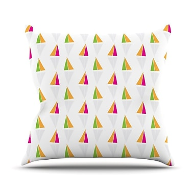 KESS InHouse Apple Kaur Designs Throw Pillow; 20'' H x 20'' W x 4'' D