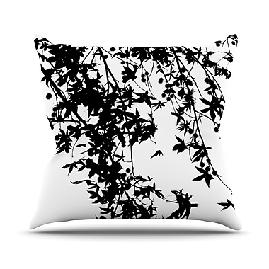 KESS InHouse Ingrid Beddoes Throw Pillow; 18'' H x 18'' W x 3'' D