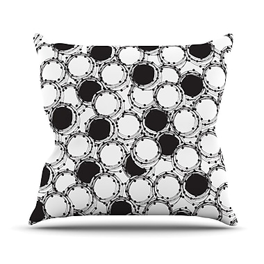 KESS InHouse Beaded Bangles by Nandita Singh Throw Pillow; 18'' H x 18'' W x 3'' D