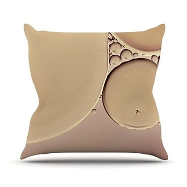 KESS InHouse A Touch by Ingrid Beddoes Throw Pillow; 18'' H x 18'' W x 3'' D