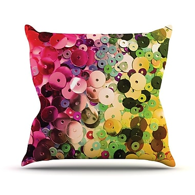 KESS InHouse Spots by Louise Machado Sparkle Throw Pillow; 20'' H x 20'' W x 4'' D