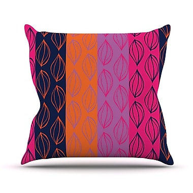 KESS InHouse Tropical Seeds by Anneline Sophia Throw Pillow; 20'' H x 20'' W x 1'' D
