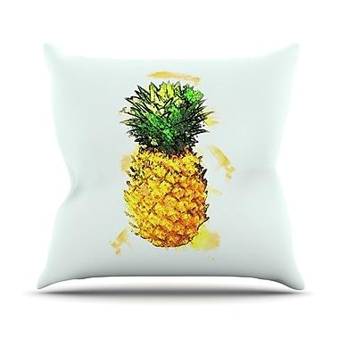 KESS InHouse Slice of Summer by Oriana Cordero Throw Pillow; 26'' H x 26'' W x 5'' D