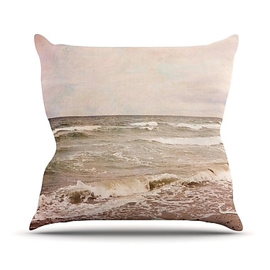 KESS InHouse Romantic Sea by Iris Lehnhardt Beach Throw Pillow; 20'' H x 20'' W x 4'' D