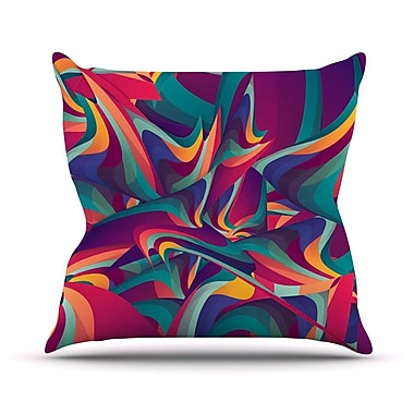 KESS InHouse Wrong Past by Danny Ivan Throw Pillow; 20'' H x 20'' W x 1'' D