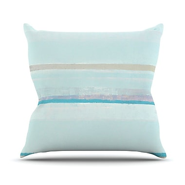KESS InHouse Cost by CarolLynn Tice Throw Pillow; 16'' H x 16'' W x 1'' D