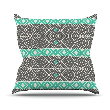KESS InHouse Going Tribal by Pom Graphic Throw Pillow; 16'' H x 16'' W x 3'' D