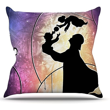 KESS InHouse Father's Day by Mandie Manzano Star Wars Throw Pillow; 26'' H x 26'' W x 5'' D