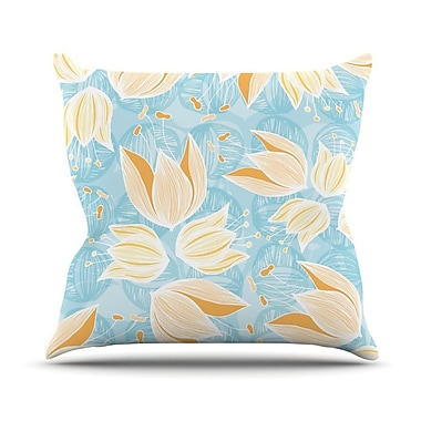 KESS InHouse Giallo by Anchobee Throw Pillow; 26'' H x 26'' W x 1'' D