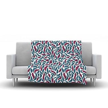 KESS InHouse Collide by Nick Atkinson Fleece Throw Blanket; 60'' H x 50'' W x 1'' D