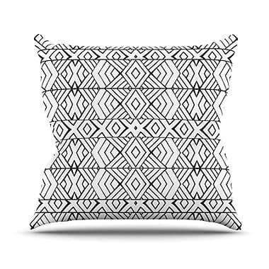 KESS InHouse Tribal Expression by Pom Graphic Throw Pillow; 18'' H x 18'' W x 3'' D