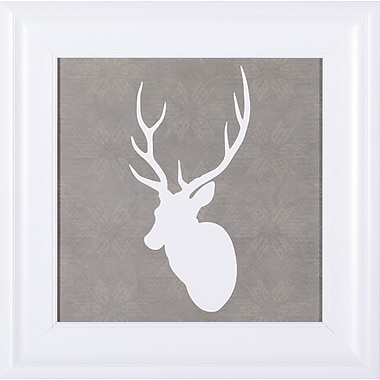 Art Effects 'Buck I' by Sabine Berg Framed Graphic Art