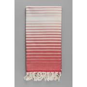 Antiochia Illusion Bath Towel; Red