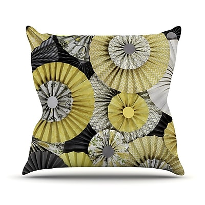 KESS InHouse Daffodil by Heidi Jennings Throw Pillow; 26'' H x 26'' W x 5'' D