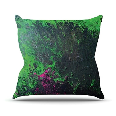 KESS InHouse Acid Rain by Claire Day Throw Pillow; 18'' H x 18'' W x 1'' D