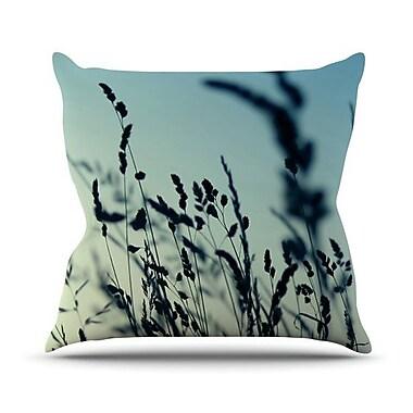 KESS InHouse Cool Breeze by Ingrid Beddoes Throw Pillow; 16'' H x 16'' W x 3'' D