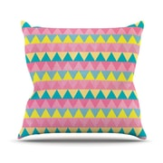 KESS InHouse Louise Machado Throw Pillow; 18'' H x 18'' W x 3'' D