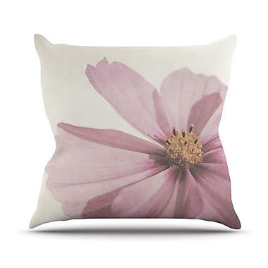 KESS InHouse Ethereal by Iris Lehnhardt Petals Throw Pillow; 20'' H x 20'' W x 4'' D