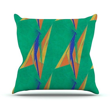 KESS InHouse Deco Art by Alison Coxon Throw Pillow; 20'' H x 20'' W x 1'' D