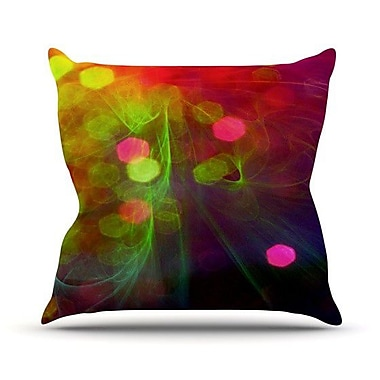 KESS InHouse Dance by Alison Coxon Throw Pillow; 16'' H x 16'' W x 1'' D