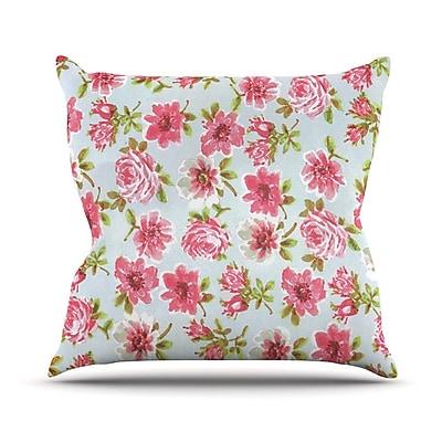 KESS InHouse Petals Forever by Heidi Jennings Throw Pillow; 16'' H x 16'' W x 3'' D