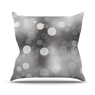 KESS InHouse Spectral Bokeh Throw Pillow; 26'' H x 26'' W x 5'' D