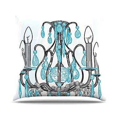 KESS InHouse Chandelier by Sam Posnick Throw Pillow; 26'' H x 26'' W x 5'' D