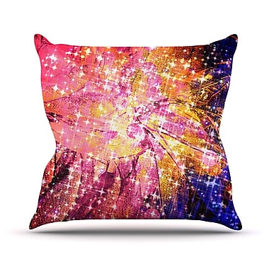 KESS InHouse Out There by Ebi Emporium Throw Pillow; 20'' H x 20'' W x 4'' D