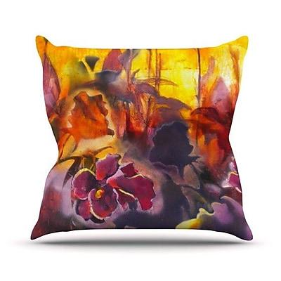 KESS InHouse Release by Kristin Humphrey Throw Pillow; 18'' H x 18'' W x 3'' D