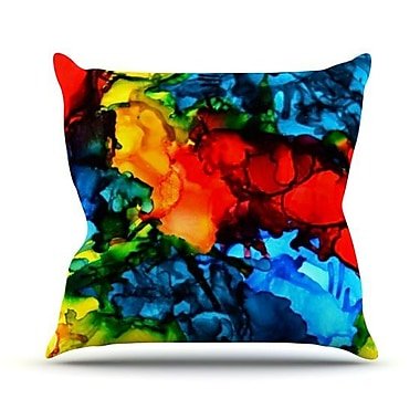 KESS InHouse Family Photos III by Claire Day Throw Pillow; 18'' H x 18'' W x 1'' D
