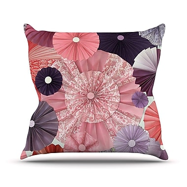 KESS InHouse The Royal Court by Heidi Jennings Throw Pillow; 16'' H x 16'' W x 3'' D