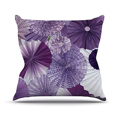 KESS InHouse Lavender Wishes by Heidi Jennings Throw Pillow; 18'' H x 18'' W x 3'' D