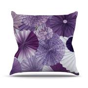 KESS InHouse Lavender Wishes by Heidi Jennings Throw Pillow; 18'' H x 18'' W x 3'' D