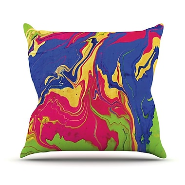 KESS InHouse Escaping Reality by Claire Day Throw Pillow; 26'' H x 26'' W x 1'' D