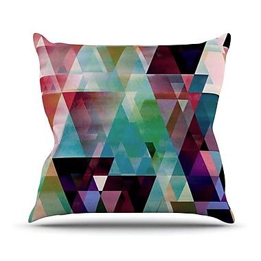 KESS InHouse Splash by Gabriela Fuente Throw Pillow; 16'' H x 16'' W x 1'' D