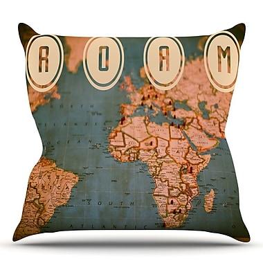 KESS InHouse Roam II Throw Pillow; 18'' H x 18'' W x 1'' D