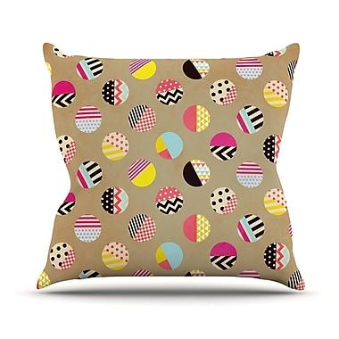 KESS InHouse Fun by Louise Machado Geometric Throw Pillow; 26'' H x 26'' W x 5'' D