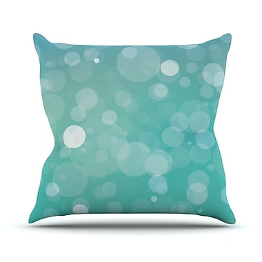 KESS InHouse Let It Go Bokeh Throw Pillow; 26'' H x 26'' W x 5'' D