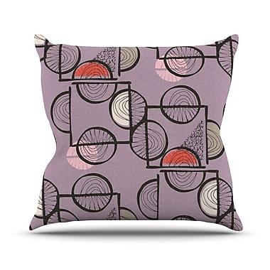 KESS InHouse Emmanuel by Gill Eggleston Throw Pillow; 26'' H x 26'' W x 1'' D