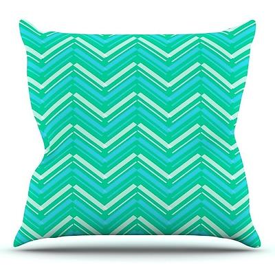 KESS InHouse Symetrical by CarolLynn Tice Throw Pillow; 20'' H x 20'' W x 1'' D