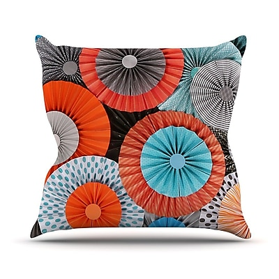 KESS InHouse Breaking Free by Heidi Jennings Throw Pillow; 18'' H x 18'' W x 3'' D