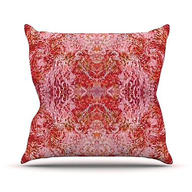 KESS InHouse Chili by Nikposium Throw Pillow; 18'' H x 18'' W x 3'' D
