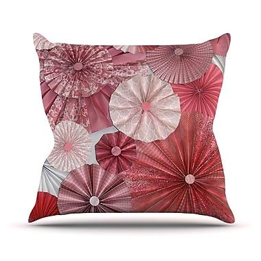 KESS InHouse Lovesick by Heidi Jennings Throw Pillow; 16'' H x 16'' W x 3'' D