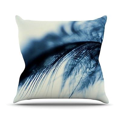 KESS InHouse Fall by Ingrid Beddoes Throw Pillow; 16'' H x 16'' W x 3'' D
