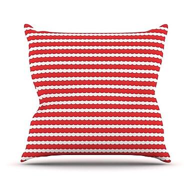 KESS InHouse Feeling Festive by Heidi Jennnings Throw Pillow; 26'' H x 26'' W x 5'' D