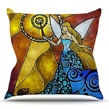 KESS InHouse Fairy by Mandie Manzano Throw Pillow; 20'' H x 20'' W x 4'' D