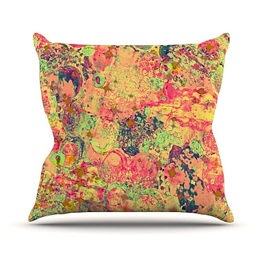 KESS InHouse Time For Bubbly by Ebi Emporium Throw Pillow; 26'' H x 26'' W x 5'' D