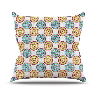 KESS InHouse Bombay Dreams by Apple Kaur Designs Throw Pillow; 20'' H x 20'' W x 4'' D