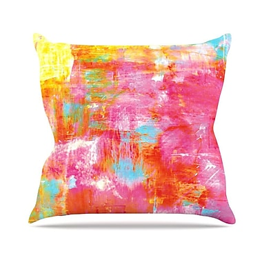 KESS InHouse Off The Grid III by Ebi Emporium Throw Pillow; 20'' H x 20'' W x 4'' D